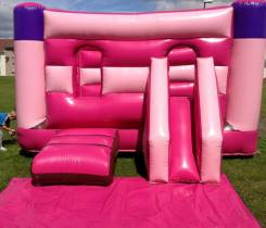 Pink Castle with Slide